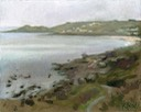 "Coverack view from north 1. 8"" x 10"" (20 x 25 cms)"